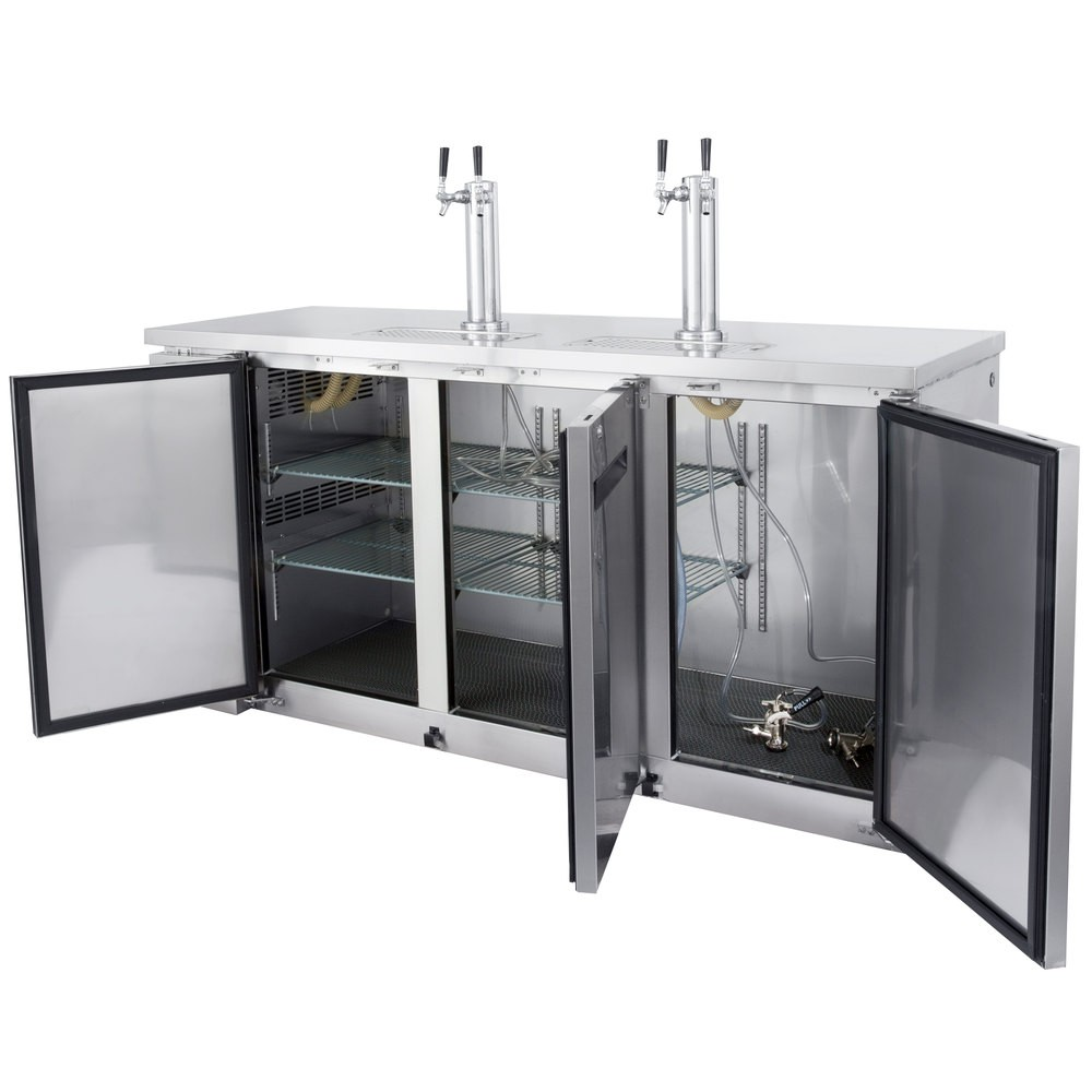 Countertop Kegerator : Superior quality for years of reliable performance. Equipped with an ...
