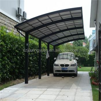 solid plastic carport