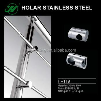 Stainless Steel Railing Accessories Cross Bar Holder Buy