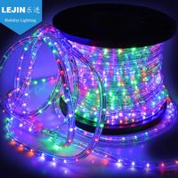 New design waterproof outdoor rope led lighting clips