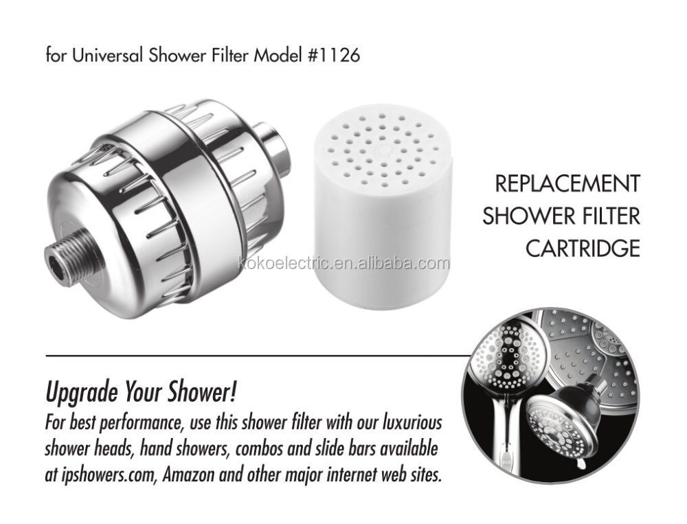 bathroom shower head filter kktp11