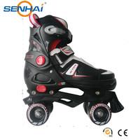 SENHAI/ACTION 2016 Professional Adjustable Roller Skates Plasstic Frame Roller Wheel Blade Skates 4 Wheels Skate Men Shoes