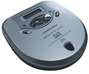 Comotron Portable MP3 CD Player with Headphones