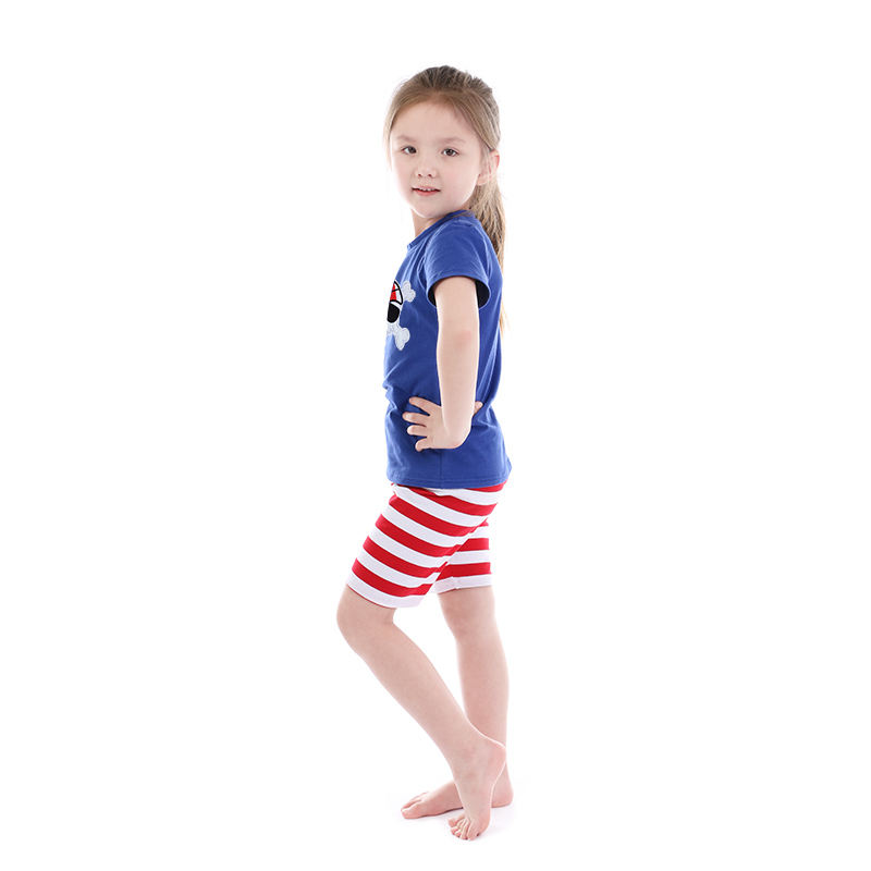Boys Boutique Top and Short Set 2 pcs Summer Cool Casual Children Clothing 2018