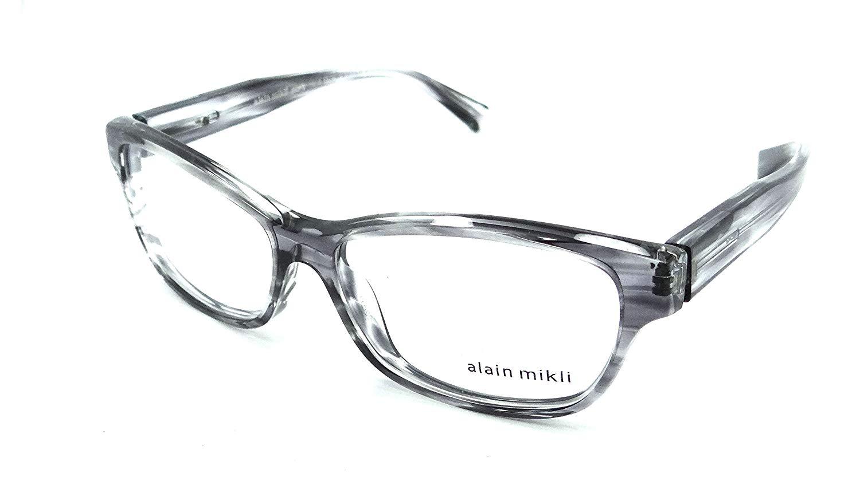 fd8058ccc14 Get Quotations · Alain Mikli Rx Eyeglasses Frames A03023 001 55-14-140  Peint Black Made in