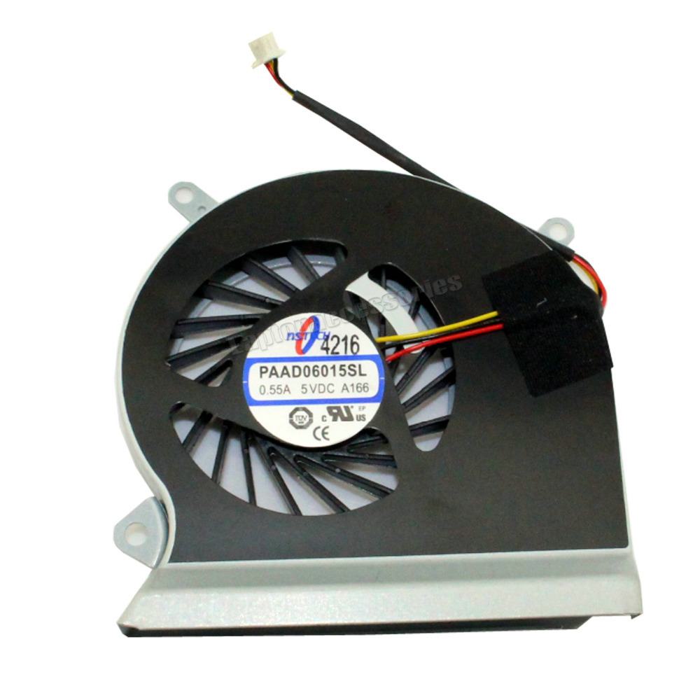Compatible with Part Number DC5V 0.55A E33-0800413-MC2 Eathtek Replacement CPU Cooling Fan for MSI GE60 MS-16GA MS-16GC GE70 MS-1756 MS-1757 CPU-VGA Series