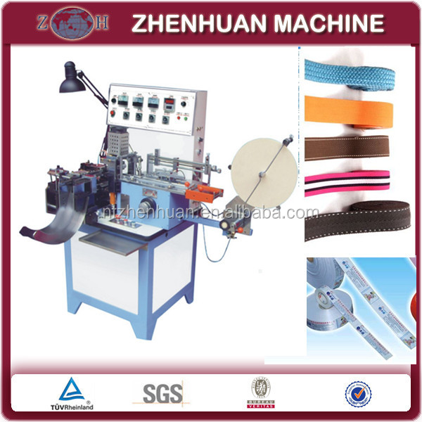ultrasonic lace cutting machine with folding and sealing function for label
