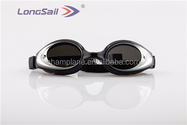New style best selling custom OEM mirrored myopia swimming goggles