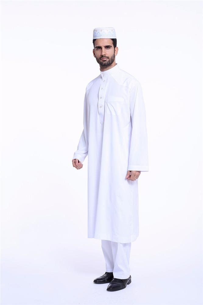 brand new 547a4 65ccf White Muslim Mens Plain Long Shirt Ethnic Dubai Arabia Men Cargidan Thobe  Mens Turkish Thobe - Buy Muslim Mens Shirt,Dubai Arabia Men Cargidan,Mens  ...