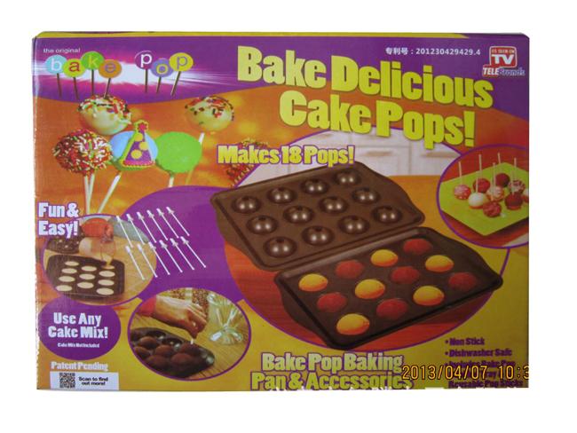 Bake Delicious Cake Pops Pan