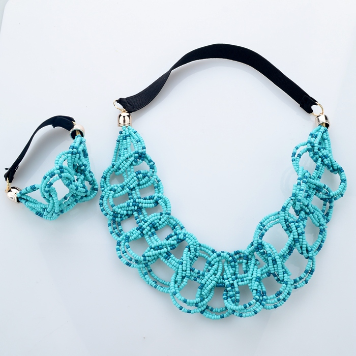 2015 Latest Handmade Seed Beads Necklace Jewelry Wholesale China ...