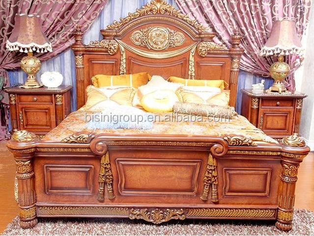 luxe moyen orient style king size lit custom made solide meubles de chambre - Chambre A Coucher Lit King Size