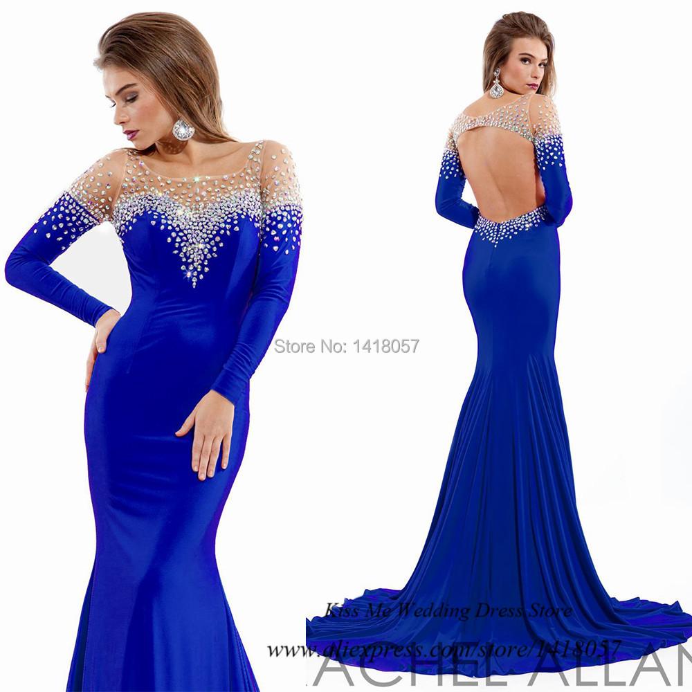 Cheap Royal Blue Mermaid Dresses, find Royal Blue Mermaid Dresses ...