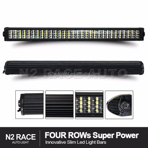 N2 RACE AUTO Top seller 4 row 240w 20'' led lightbar for Chevy Silverado trucks bumper