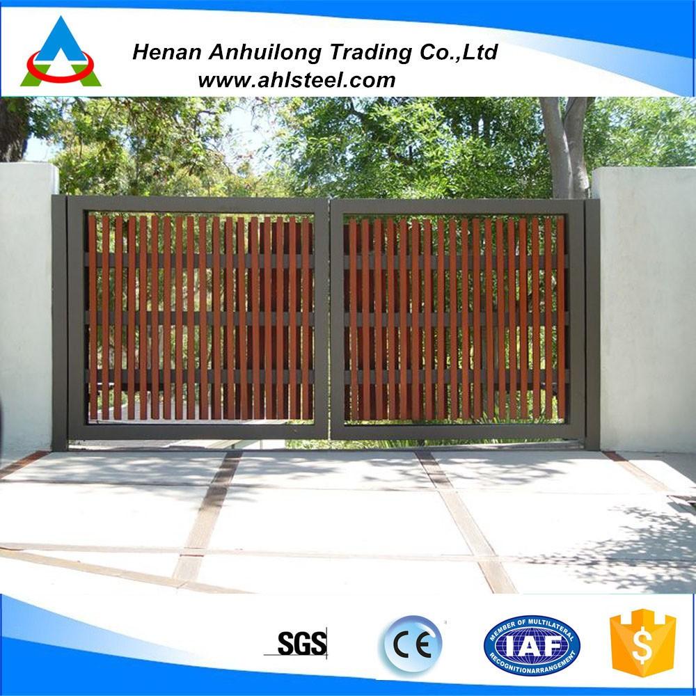 Modern steel gates and fences price corten steel doors