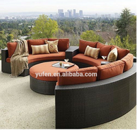Rattan wicker luxury big lots outdoor garden furniture YF3356