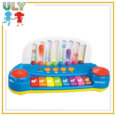 Most popular kids plastic piano musical children electronic organ toys