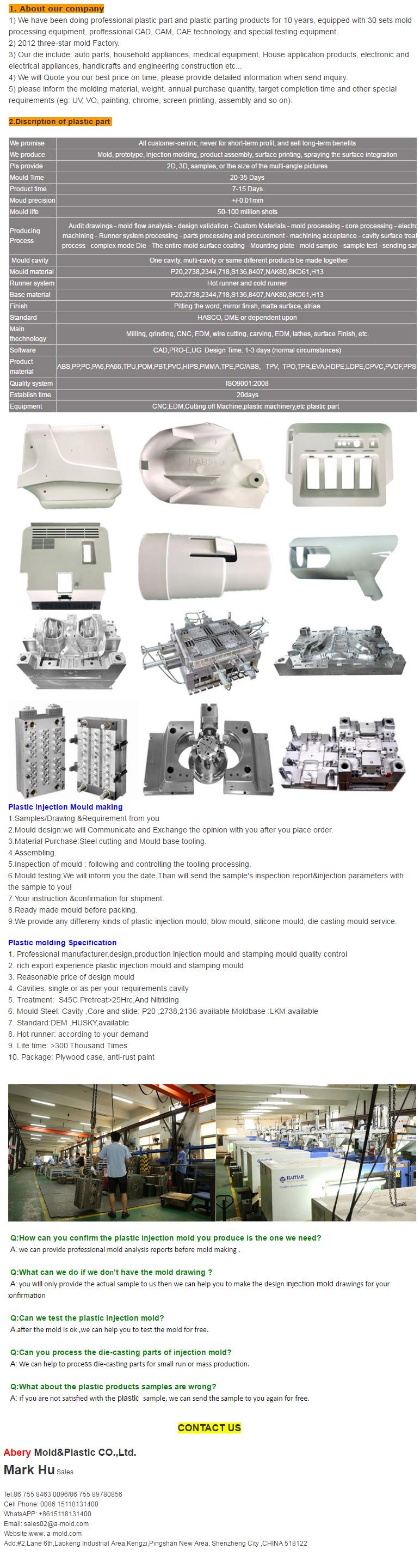 mobile holder mold Customized Details