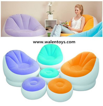 intex inflatable lounge chair. Intex Ultra Lounge Inflatable Chair W/ Ottoman Sofa Dorm