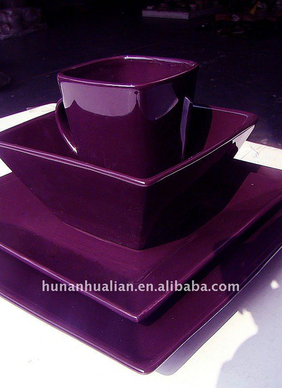 Noble Purple Stock Square Ceramic Dinnerware Set - Buy Purple Ceramic Dinner SetsUnique Dinnerware SetWestern Dinnerware Set Product on Alibaba.com & Noble Purple Stock Square Ceramic Dinnerware Set - Buy Purple ...