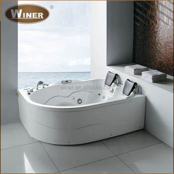 Good Luxury Two Person Freestanding Acrylic Indoor Whirlpool Tubs Double  Whirlpool Bathtubs