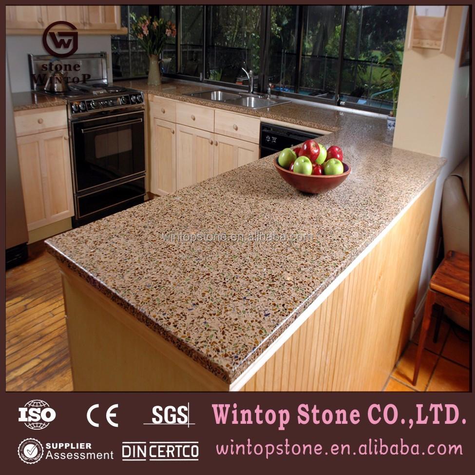 Qct0200 Epoxy Resin Kitchen Countertop,Quartz Countertop