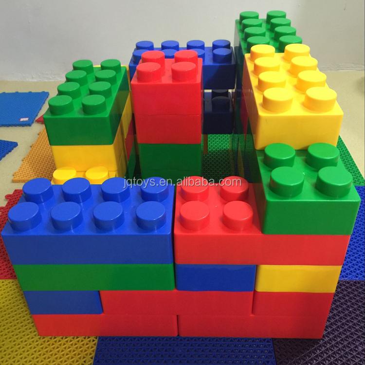 Enfant grand jouet en plastique blocs de construction avec for Large acrylic block