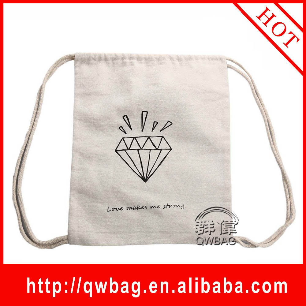 High Quality Various Small Shopping bag, Cotton Drawstring Bag