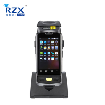Middle Range 5M Android Wireless Mobile Uhf Rfid Handheld Reader and Writer with Touch Screen