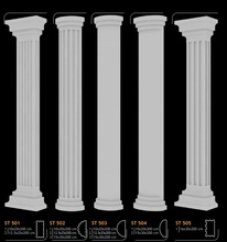 Exterior Decoration Polystyrene Cornice Moulding Columns New Design Eps Roman Pillar