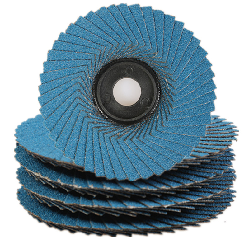 Grit 40-400 Flower Flap Disc And Soft Flap Disc For Automatic Flap Disc Machine
