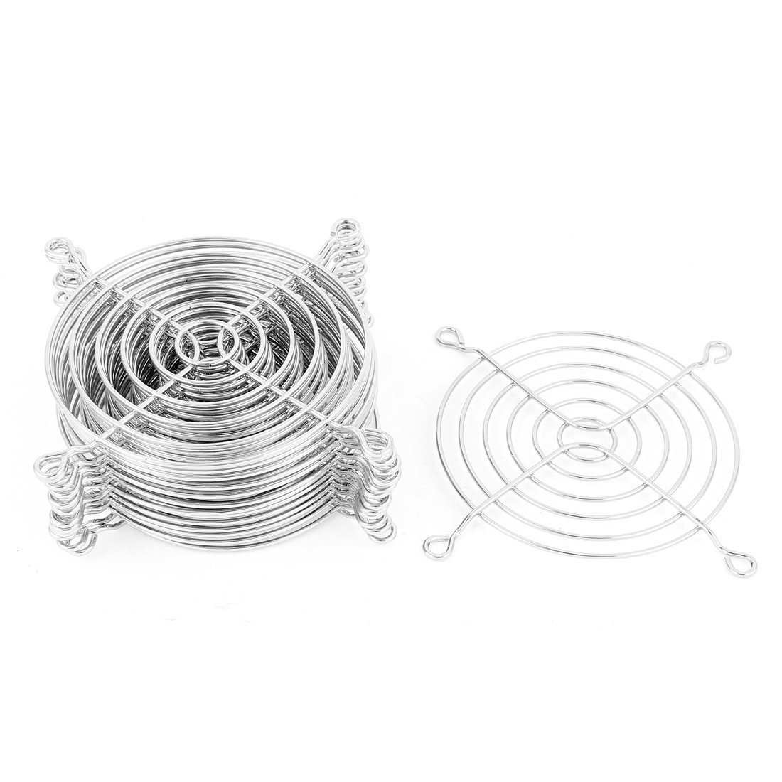 Metal Wire Finger Guard Grill 15 Pcs for 90mm Computer PC Cooling Fan
