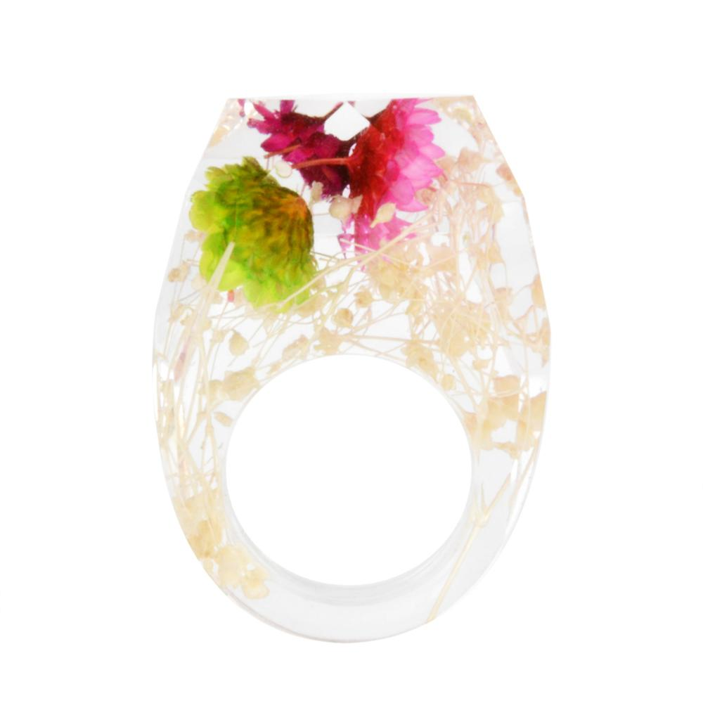 Enjoyable Mix Designs Real Pressed Dried Flower Leaf Rose Resin Babys Breath Gypsophila Daisy Ring Jewelry Diy Buy Flower Finger Rings Resin Flower Caraccident5 Cool Chair Designs And Ideas Caraccident5Info