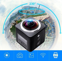 Virtual Reality Cube 360 Degree Wifi Mini Video Recorder VR Action Camera