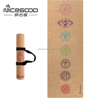 2019 Popular Sublimation Extra Wide Yoga Mat With Holder