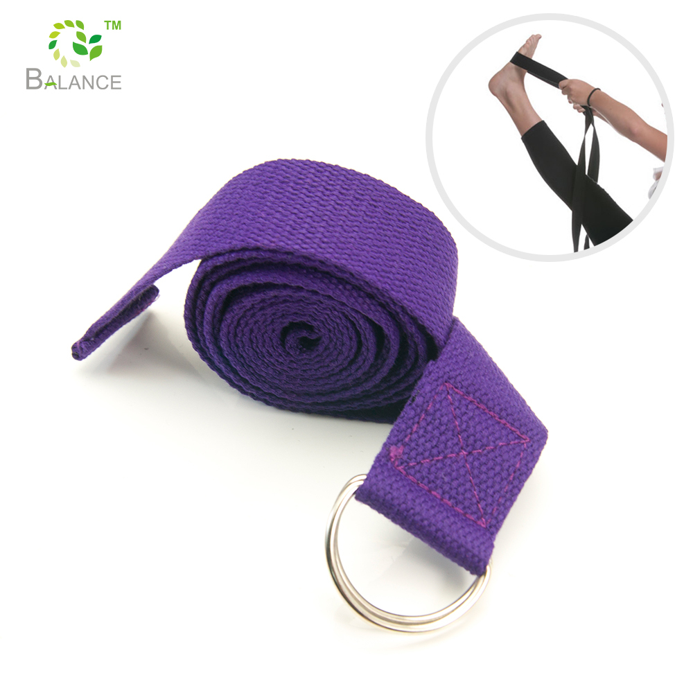 8ft Yoga Stretch Strap Voor Yoga, Stretching & Algemene Fitness