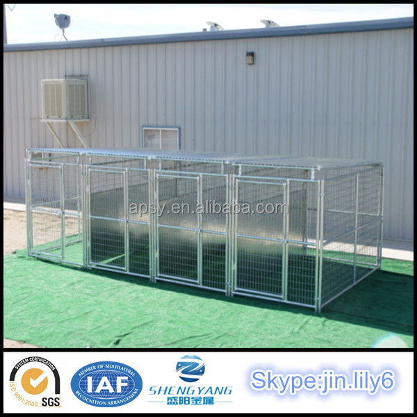 Factory of large backyard metal grid kennel