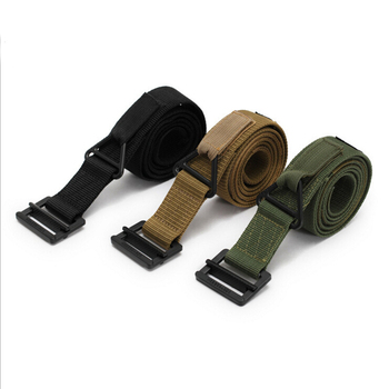 Army Belt Black Strap Nylon Tactical Outdoor Military Belt