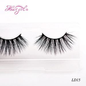 100% Mink Hair 25mm eyelash Custom Glitter 5D Mink Flare 25mm eyelashes