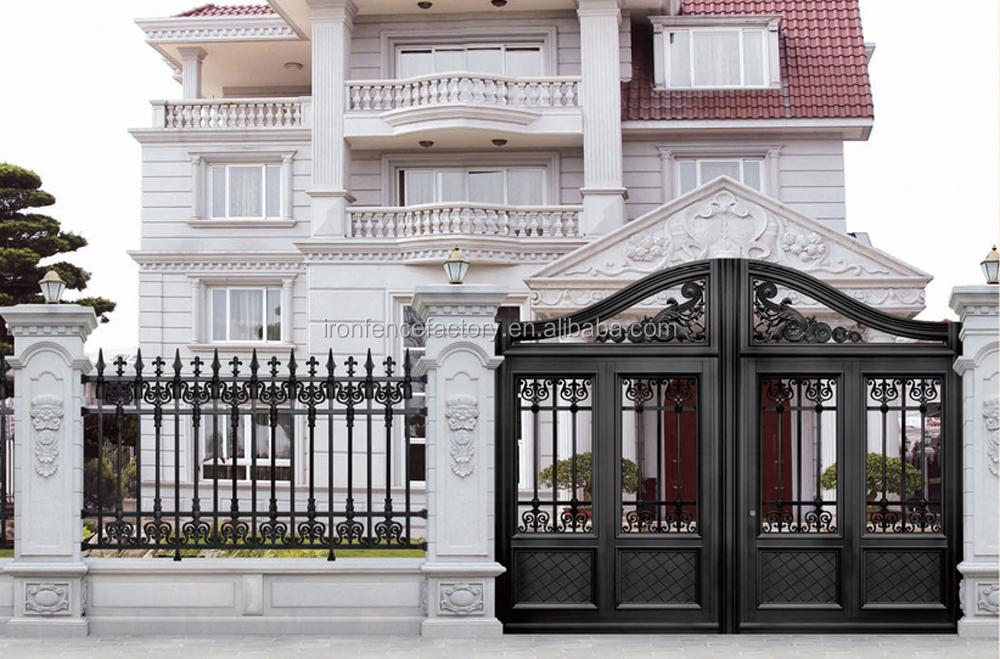 2016 Factory Price House Main Aluminum Gate Designs/gate Grill ...