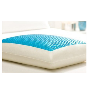 Hydraluxe cold visco silicone cool gel memory foam pillow