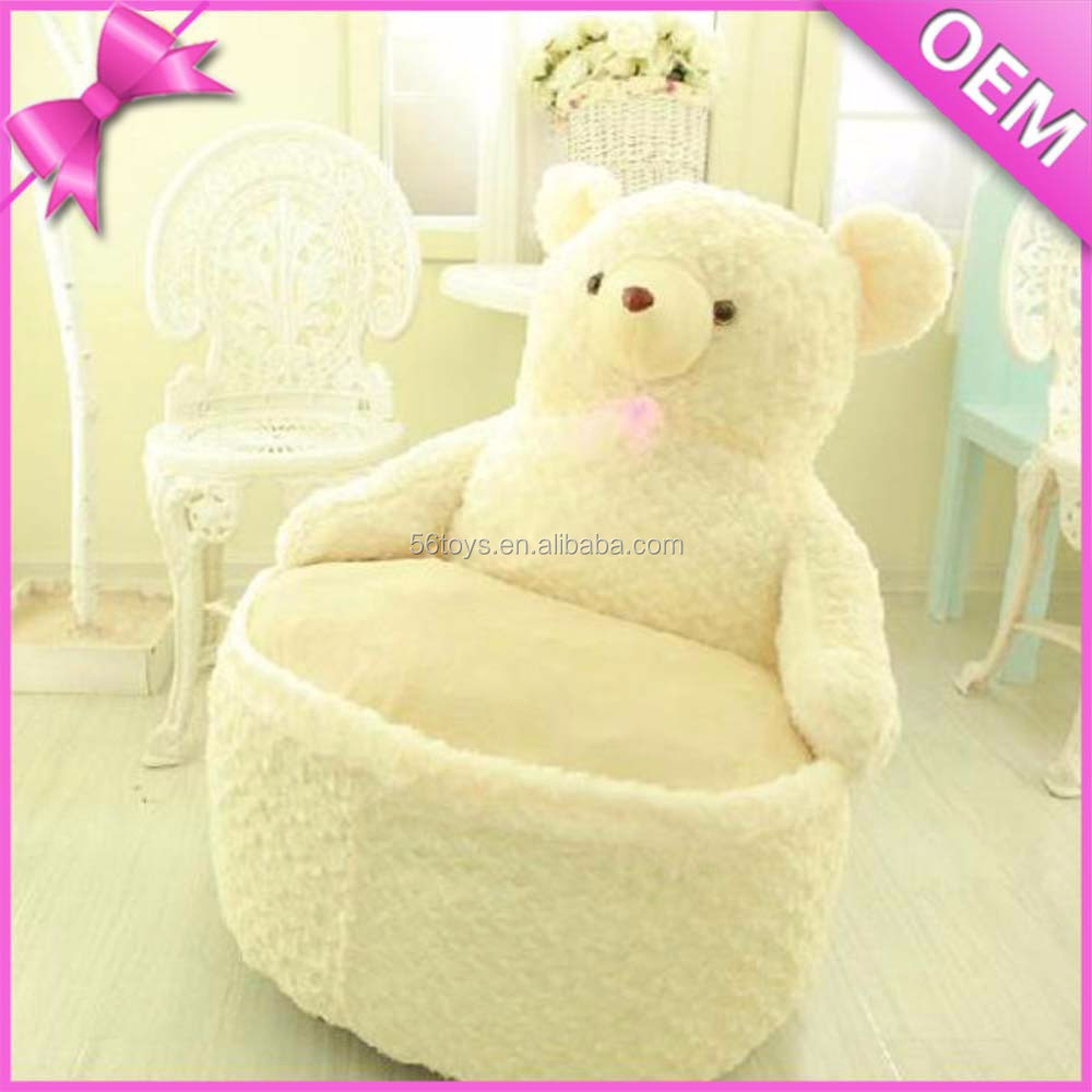 super doux confortable peluche chaise en peluche animal canap chaise ours en peluche chaise. Black Bedroom Furniture Sets. Home Design Ideas