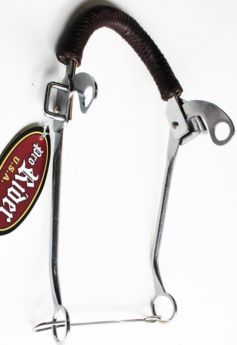 Coronet Braided Leather Nose Hackamore