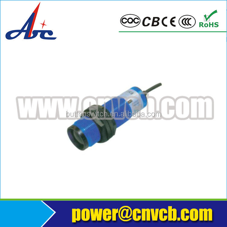 PXS163 E3F3(import type) M8X1 diffuse/feedback/duishe type NPN or PNP NO/NC column photoelectric switch