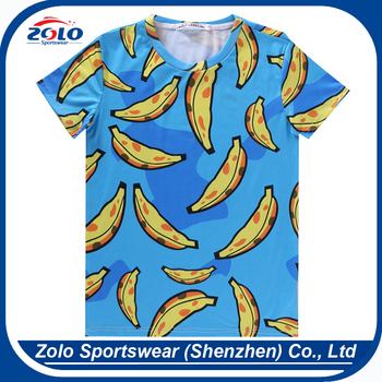 Directly factory sale large quantity popular sublimation sport t shirt