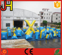 Customized High Quality Inflatable Paintball Bunkers For Arena Game