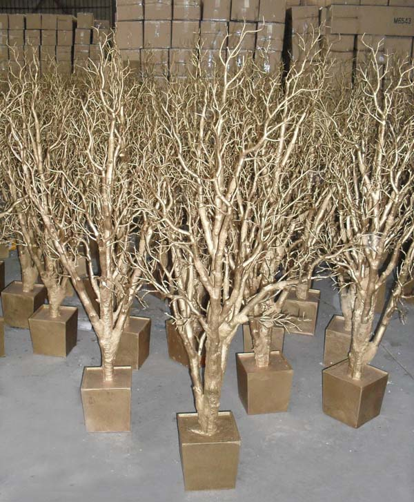 Gnw wtr dry tree for decoration white winter trees