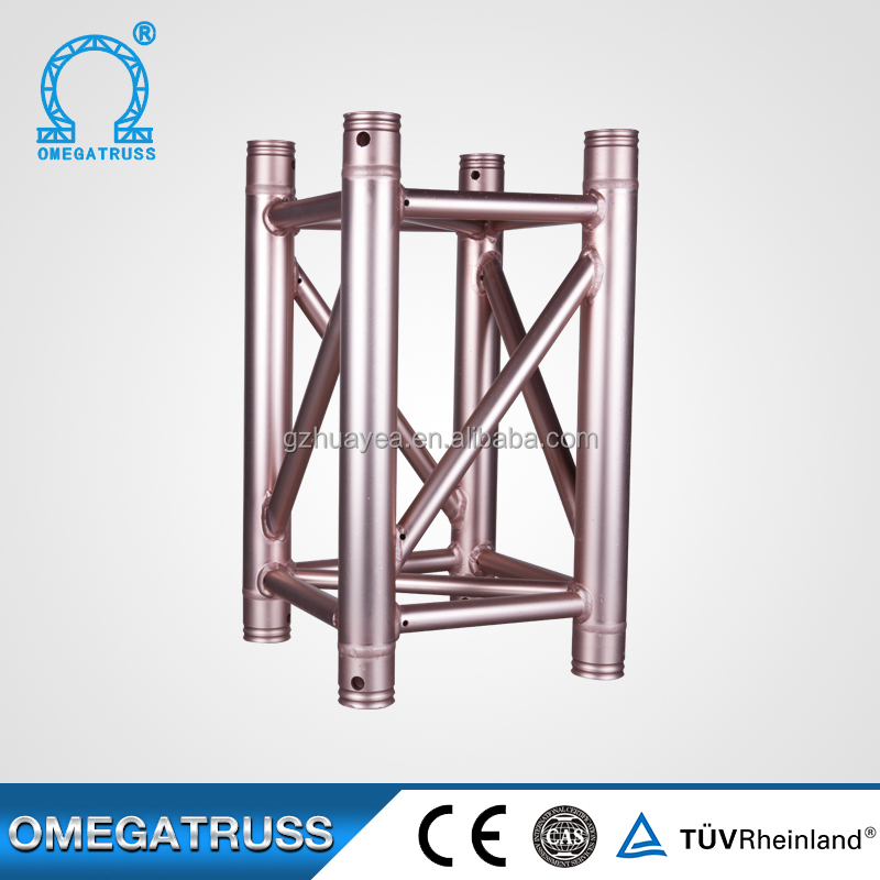 Aluminum 6082-T6 12 inch box truss of spigot aluminum truss
