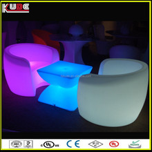 portable plastic light furniture with wireless design