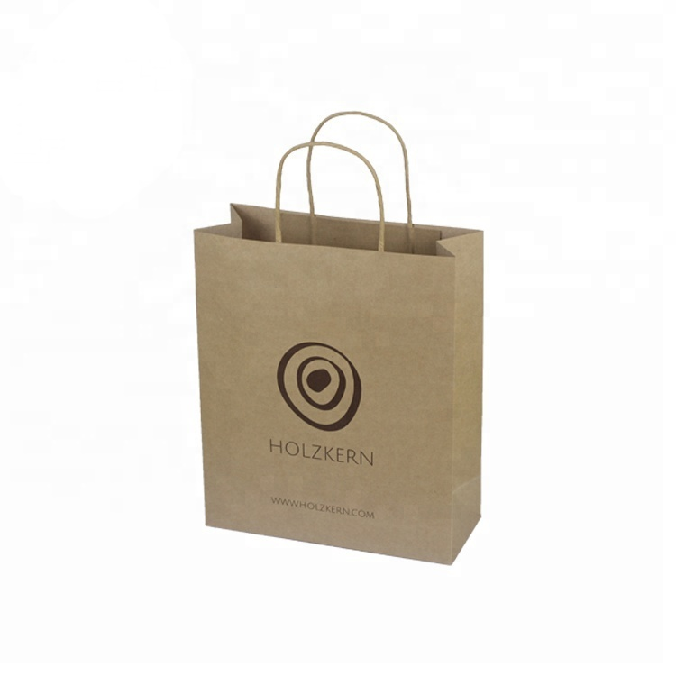 Wholesale Custom Merchandise Shopping Small Brown Mini Kraft Paper Gift Bags With Handles  sc 1 st  Alibaba & Wholesale Custom Merchandise Shopping Small Brown Mini Kraft Paper ...
